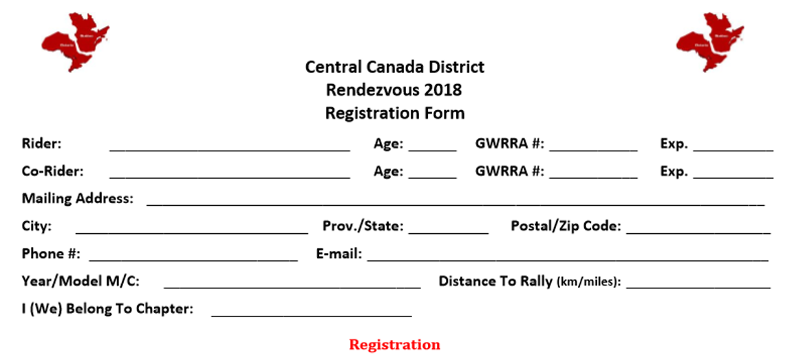 2018 rendezvous registration form waiver