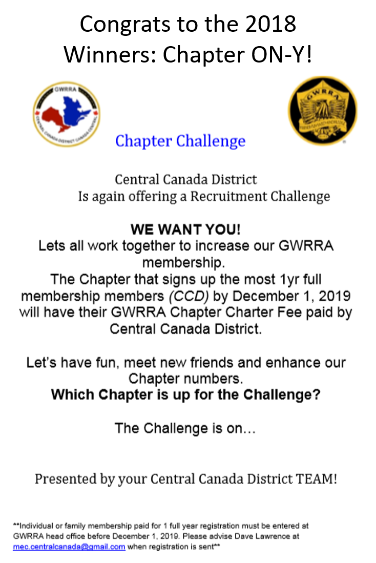Chapter Challenge Flyer